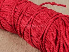2мм. ШХ8-002-7 Шнур, D-2мм, х/б 100%, красный