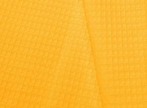 Полотенце вафельное банное 80*150 цвет желтый