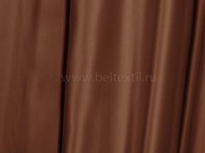 Ткань портьерная сатен T JL 384-08/280 PSat шоколад, 280см
