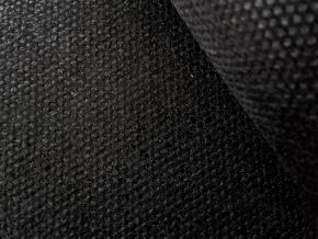 512-0050-090-508-90 Флизелин клеевой 50гр/м.кв. сплошное покр., черный, ш.90см (рул.100м)