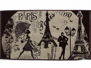7с103.416ж1 Мечты о Париже Полотенце махровое 47х90см