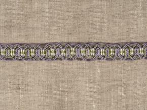 Тесьма HK AG996A-1917 шир.2см (25m) сирень/олива