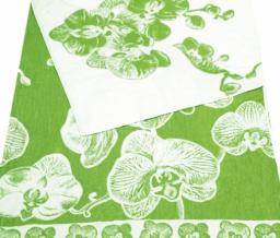 4с82.070 Орхидея Полотенце махровое 104х175см