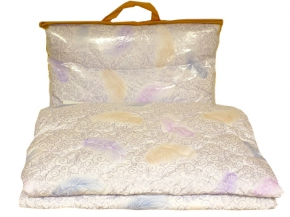 Одеяло 2 спальное 175*205см, лебяжий пух