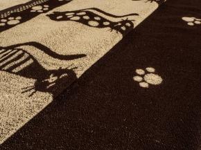 6с102.411ж1 67х150см Коты полотенце махровое