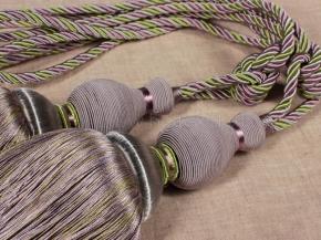 Кисти Ajur НК К6-85-04 серый/лиловый/олива