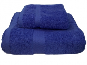 Полотенце махровое Amore Mio GX Classic 33*70 цв. синий