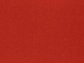 Саржа гл/крашеная красная 250 г/м2, ширина 150 см ( в рулоне 30м)