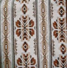 Одеяло хлопковое 170*205 жаккард  37/01 цвет коричневый