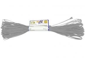 1С13-Г50 ШНУР ОТДЕЛОЧНЫЙ (сутаж) серый*012, d-1.8мм (рул.20м)