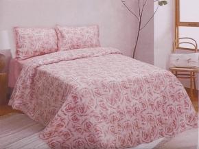 16с230-ШР/уп.220*210 КПБ Розы рисунок  88 цвет 1 розовый