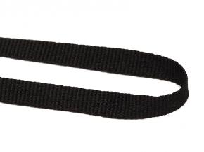 Лента вешалочная 7мм, черный (уп.300м)