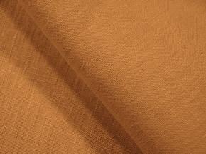 Ткань костюмная арт. 176003 лен гладкокрашеный Горчица 846, ширина 150см