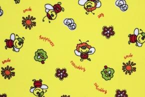 917-БЧ (823) Ситец х/б набивной рис.4200-01 Пчелка, ширина 97.5см