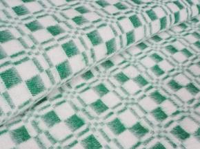 Одеяло хлопковое ОБ-420 100*140 клетка зеленый