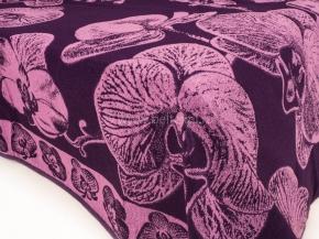 6с101.412ж1 Орхидея Простыня махровая 208х200см