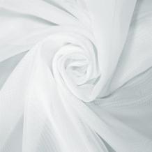 """1 Вуаль однотонная """"Шелли""""  01-белый RS 2001/300 V Вуаль ширина 300 см"""