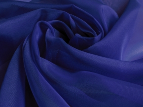 "Вуаль однотонная ""Шелли"" SH 67/A/295 V синий, ширина 295 см"