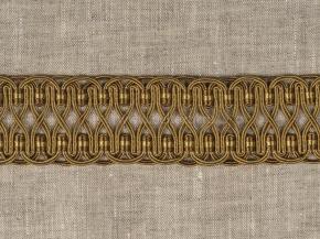 Тесьма HK AG996B-2015 шир.4см (25m) золото