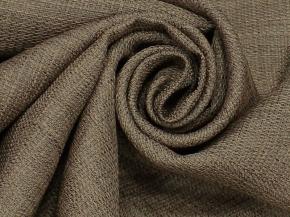 Ткань портьерная T HH ZJM417-07/280 PL какао, ширина 280см