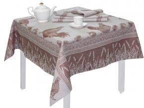 16с412-ШР / уп.150х150 Комплект столовый  Ранчо цв16 коричневый