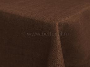 Ткань скатертная арт 05С-18ЯК цвет 896 шоколад, мех. умяг., ширина 150см