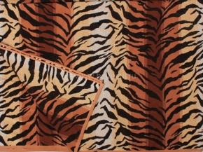 6с101.411ж1 Тигр NEW Простыня махровая 208х150см