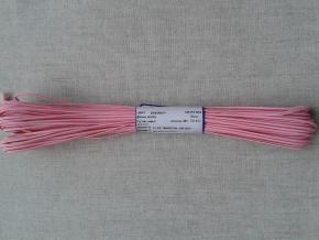 1С14-Г50 ШНУР ОТДЕЛОЧНЫЙ (сутаж) розовый*004, d-2.5мм (рул.20м)
