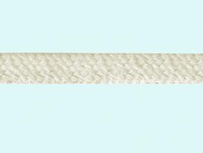 7,5мм. 2С210-Г50 ШНУР ВЕРЕТЕННЫЙ 100% хлопок, белый (суровый) 7.5мм (рул.100м)
