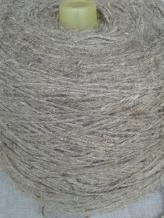 Пряжа чистольняная оческовая крученая сухого прядения 400*3 (2.5/3) СРО суровая, сорт 1 (кг)