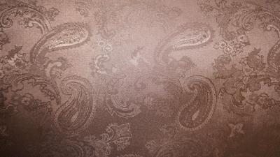 Подкладочная ткань арт.04С9-КВгл 1756/091001 Огурцы коричневый РАСПРОДАЖА