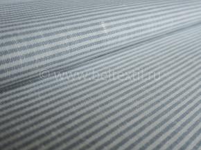 Ткань 1654ЯК п/лен пестротканый ХМ усадка рис. 2а/2 10,0 серо-голубой сорт 1, ширина 150см