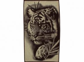 6с103.412ж1 Тигр на охоте Полотенце махровое 50х90см