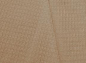 15с169/150 полотно ваф. гл/кр крупная клетка 7*7 мм  230г/м2 беж, ширина 150 см