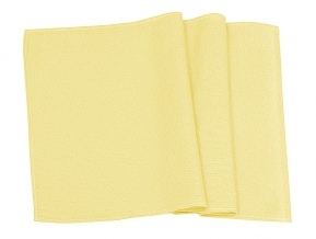 Полотенце вафельное 45*60 цвет желтый
