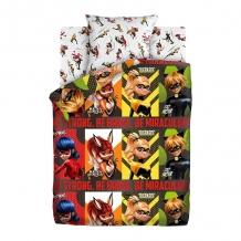"""КПБ 1.5 сп хлопок """"Lady Bug"""" 50х70 Супергерои"""