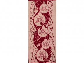 6с102.411ж1 Новогодние шарики Полотенце махровое 67х150см