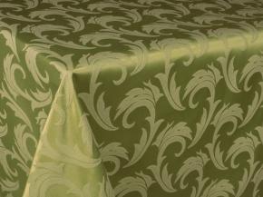 06С26-КВгл+ГОМ т.р. 1625 цвет 160228/140425 оливковый с салатовым, ширина 155см