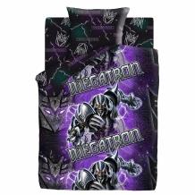 "КПБ 1.5 сп поплин 50*70""Transformers"" Neon Мегатрон"