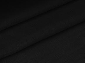 Ткань скатертная арт 17с4 ЯК 506099 п/лен гладкокрашеный рисунок 10.7 цвет черный, ширина 150см