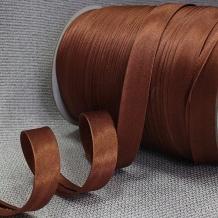 Косая бейка Ajur HY 154/1,5см (100м) коричневый
