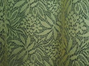 1.50м 2С12-К рис.1523 полотно гардинное цв. оливковый