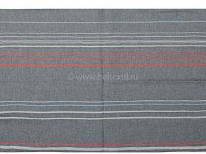 16с202-ШР/у 220*200  Пододеяльник полоска цв.1, 4  рис 9 серый