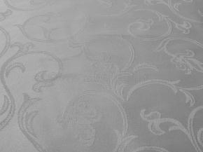 2010Л-01 Скатерть овал 2233/010301 180*150 цв. серый
