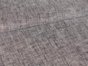 Ткань 05с-27ЯК ХМ усадка лен пестротканый цв. черный/синий 10,8/7,3 10,33, 150см