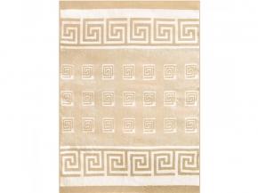 Одеяло п/шерсть 70% 140*205 жаккард цвет бежевый