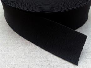40мм. Резинка ткацкая 40мм, черная (рул.40м)