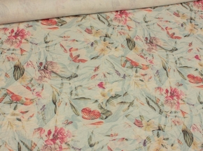 03С124-ШР/пн.цп.+ХУ 1/632 Ткань сорочечная, ширина 150см, хлопок-51% лен-49%