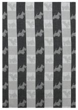 18с52-ШР/п.р. 49*70 Полотенце Терри цв. черный