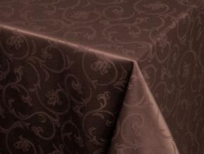 03С5-КВгл+ГОМ т.р. 2233 цвет 090902 темный шоколад, ширина 155см
